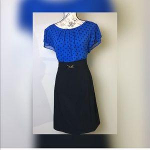 Alyx limited mid length polka dot dress